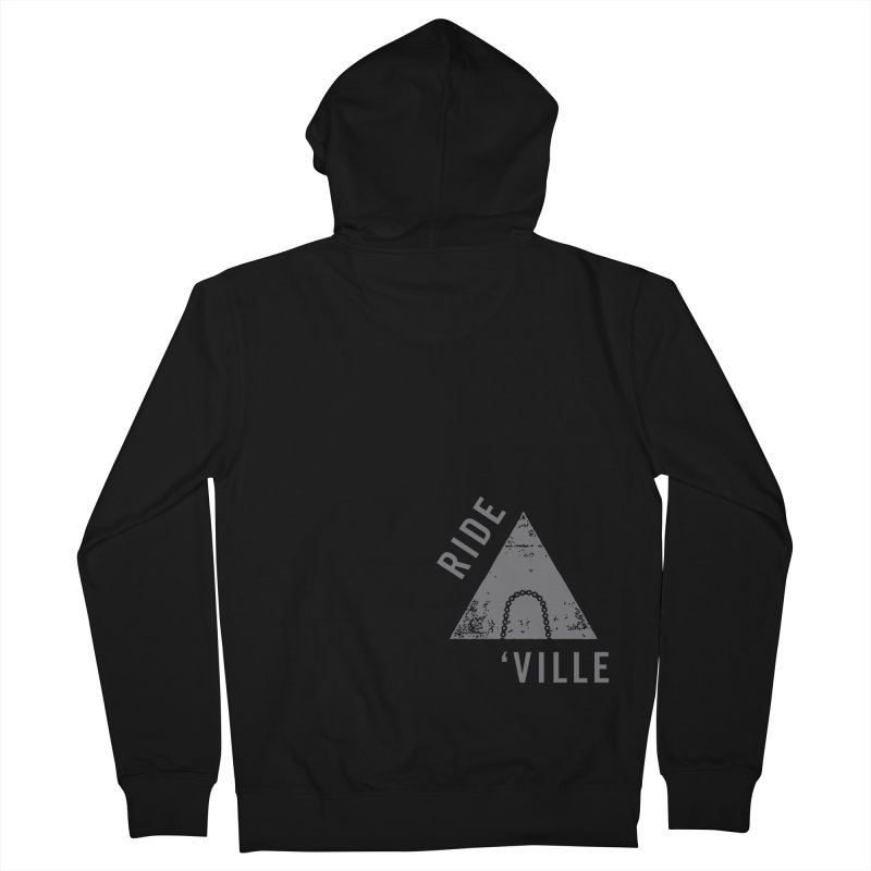 RIDE AVL CHAIN Men's Zip-Up Hoody by CRANK. outdoors + music lifestyle clothing