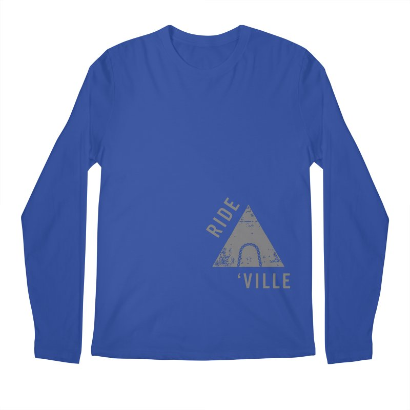 RIDE AVL CHAIN Men's Longsleeve T-Shirt by CRANK. outdoors + music lifestyle clothing