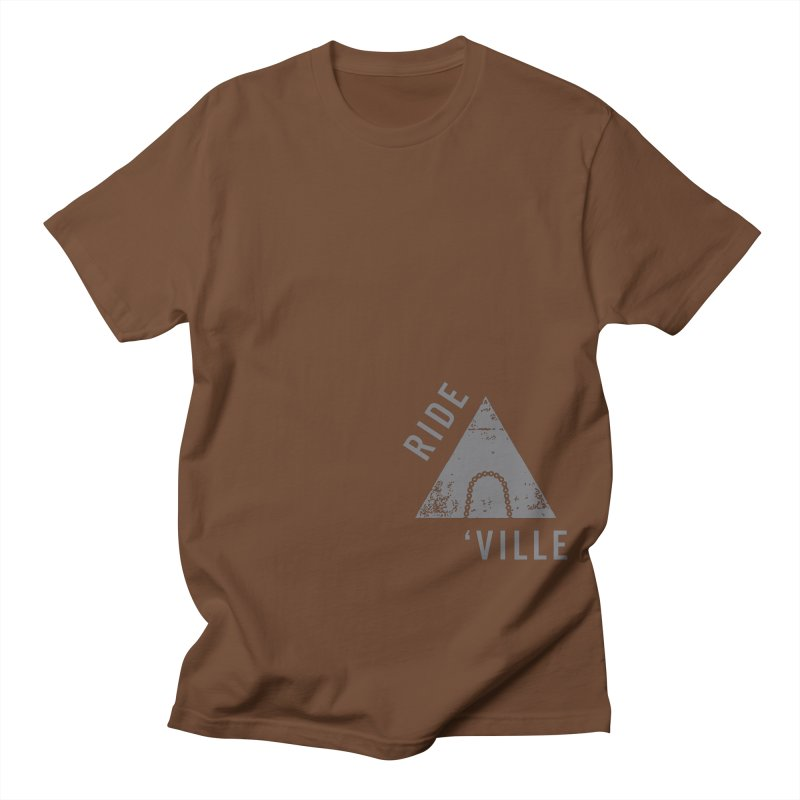 RIDE AVL CHAIN Men's T-shirt by CRANK. outdoors + music lifestyle clothing