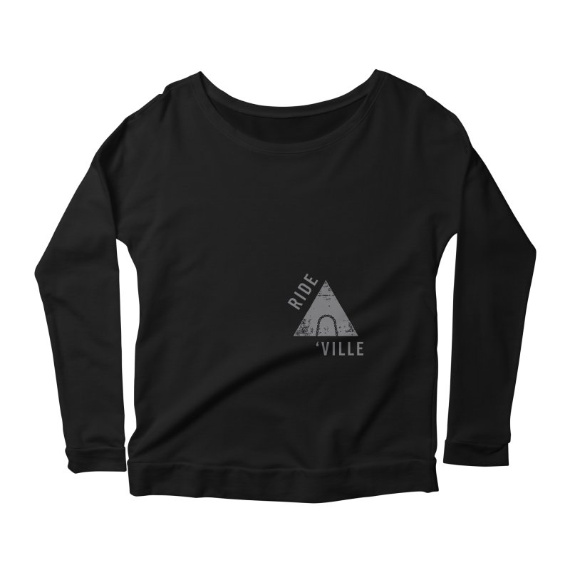 RIDE AVL CHAIN Women's Scoop Neck Longsleeve T-Shirt by CRANK. outdoors + music lifestyle clothing