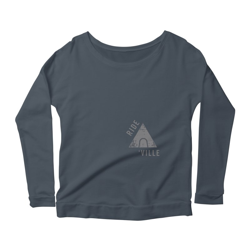 RIDE AVL CHAIN Women's Longsleeve Scoopneck  by CRANK. outdoors + music lifestyle clothing