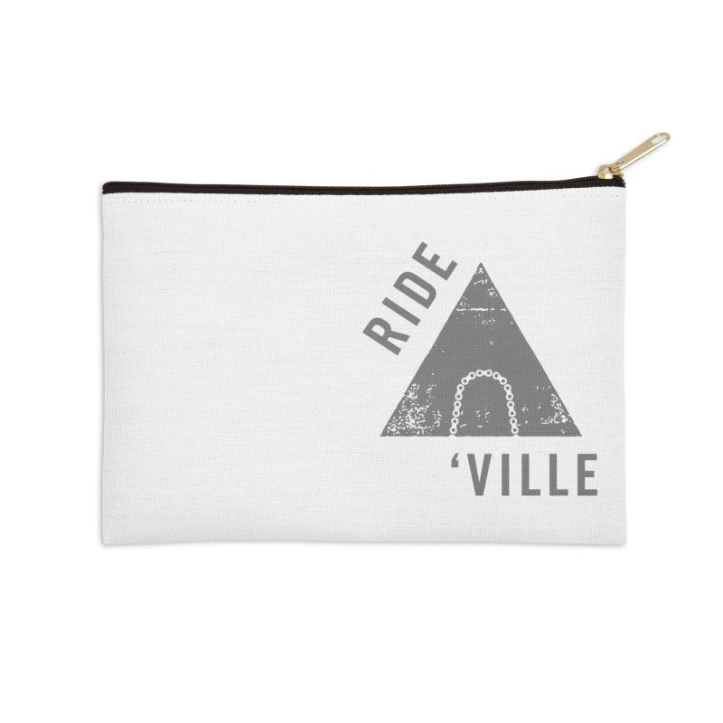 RIDE AVL CHAIN Accessories Zip Pouch by CRANK. outdoors + music lifestyle clothing