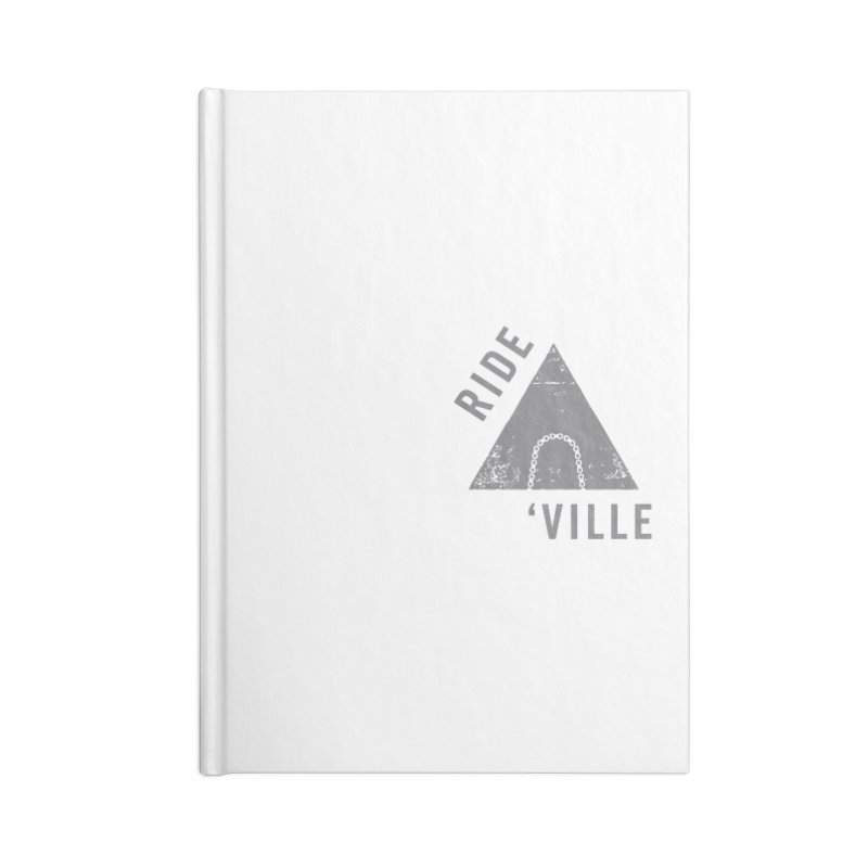 RIDE AVL CHAIN Accessories Notebook by CRANK. outdoors + music lifestyle clothing