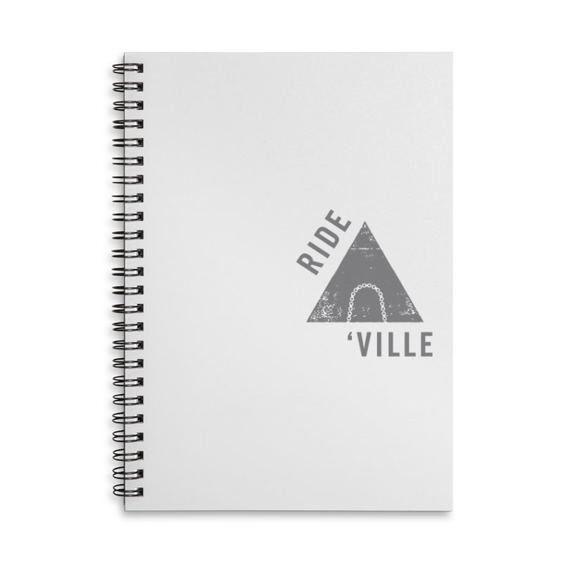 RIDE AVL CHAIN Accessories Lined Spiral Notebook by CRANK. outdoors + music lifestyle clothing