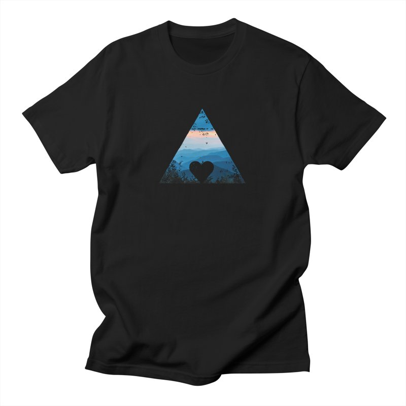 Love the Mountains Women's T-Shirt by CRANK. outdoors + music lifestyle clothing