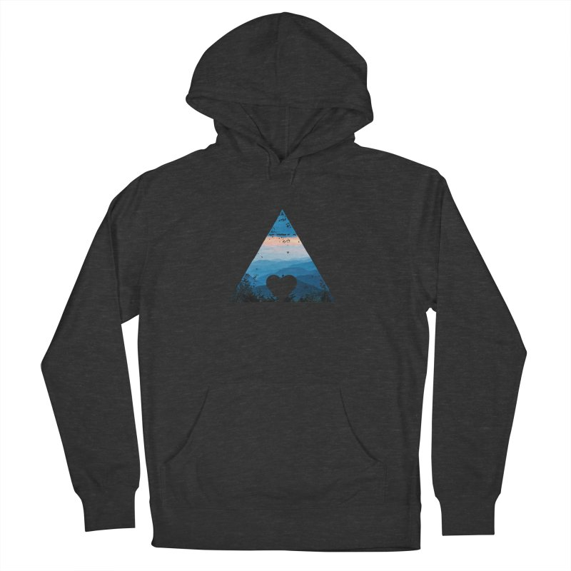 Love the Mountains Men's Pullover Hoody by CRANK. outdoors + music lifestyle clothing