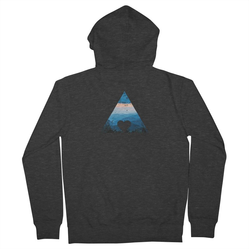 Love the Mountains Women's Zip-Up Hoody by CRANK. outdoors + music lifestyle clothing