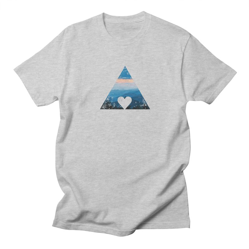 Love the Mountains Men's T-Shirt by CRANK. outdoors + music lifestyle clothing