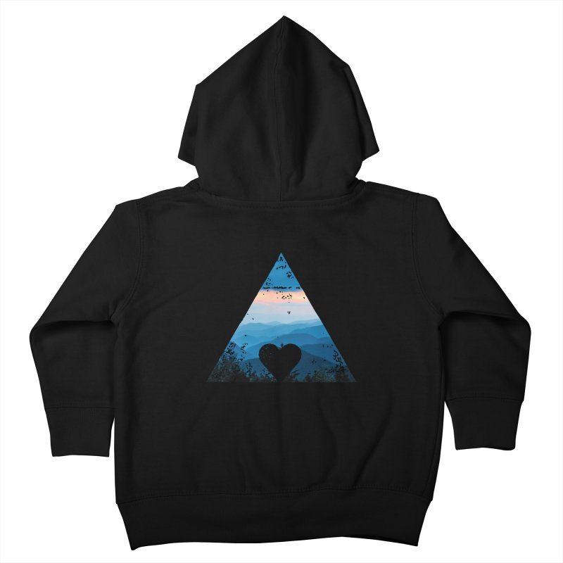 Love the Mountains Kids Toddler Zip-Up Hoody by CRANK. outdoors + music lifestyle clothing