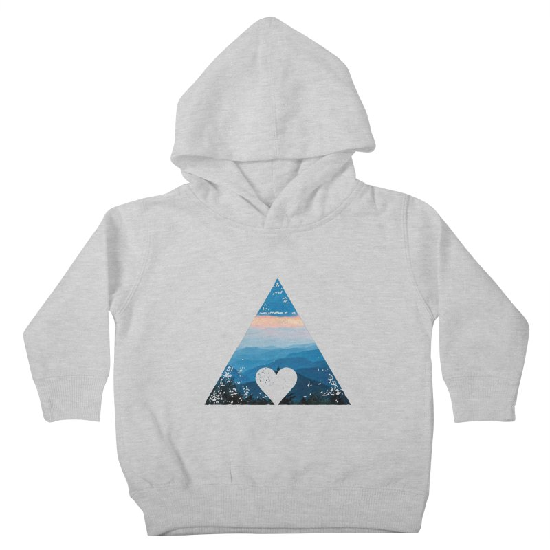 Love the Mountains Kids Toddler Pullover Hoody by CRANK. outdoors + music lifestyle clothing