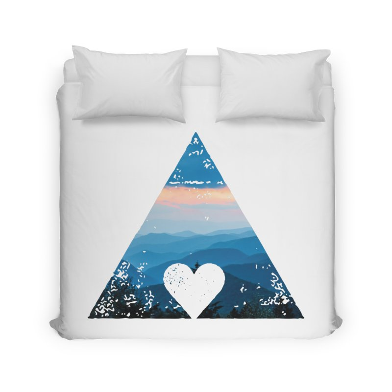 Love the Mountains Home Duvet by CRANK. outdoors + music lifestyle clothing