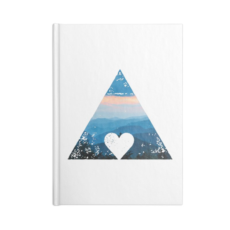 Love the Mountains Accessories Notebook by CRANK. outdoors + music lifestyle clothing