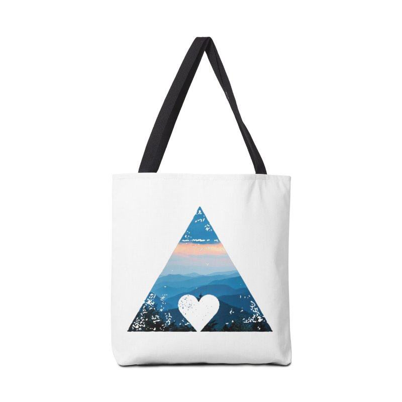 Love the Mountains Accessories Bag by CRANK. outdoors + music lifestyle clothing