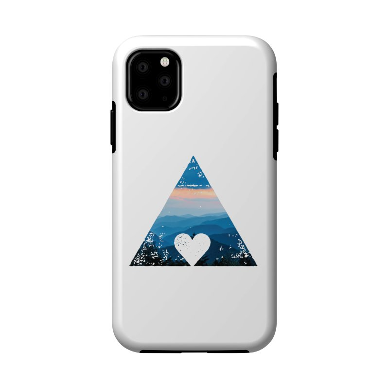Love the Mountains Accessories Phone Case by CRANK. outdoors + music lifestyle clothing