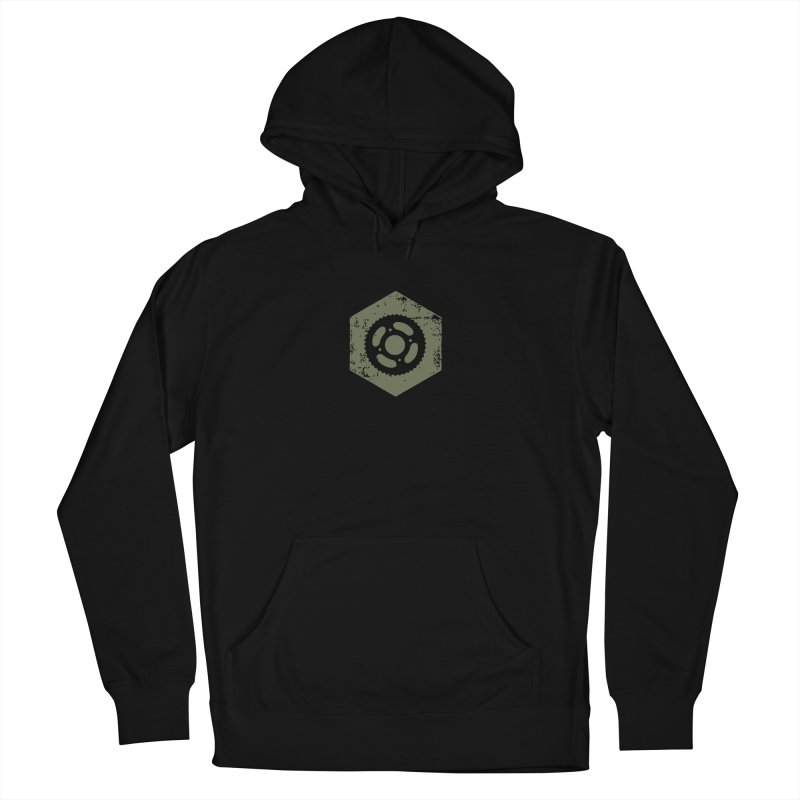 Nuts n' Bolts Men's Pullover Hoody by CRANK. outdoors + music lifestyle clothing