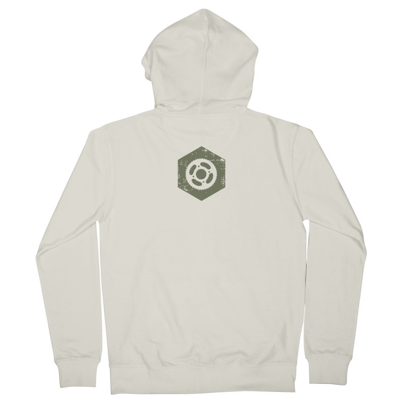 Nuts n' Bolts Men's Zip-Up Hoody by CRANK. outdoors + music lifestyle clothing
