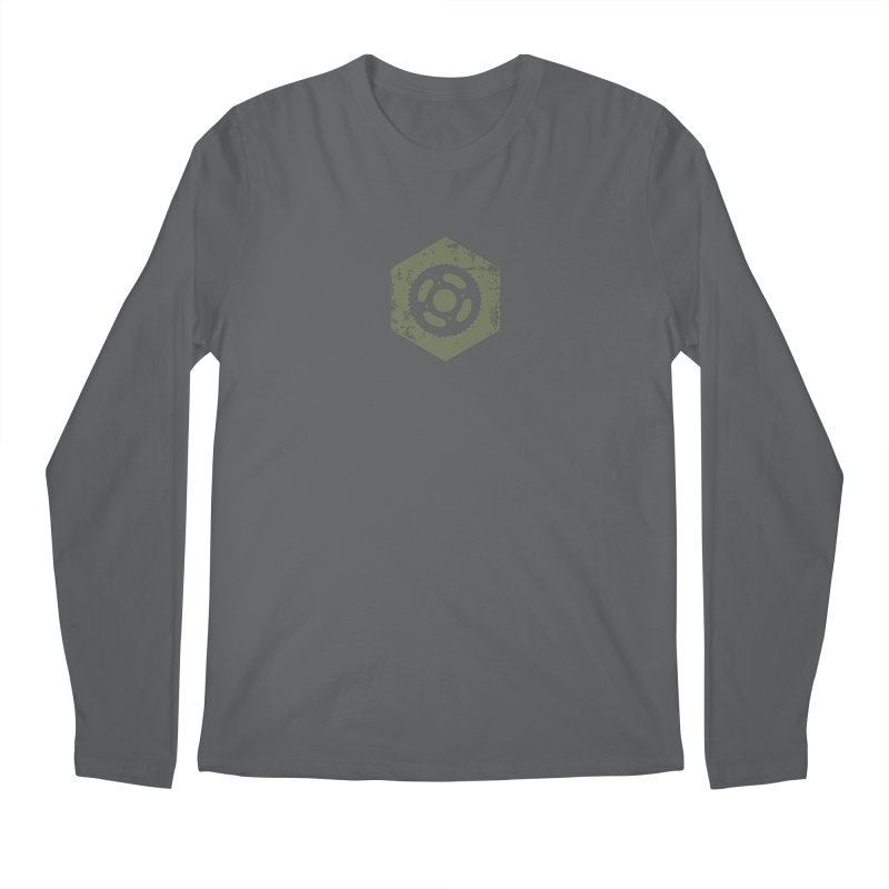 Nuts n' Bolts Men's Longsleeve T-Shirt by CRANK. outdoors + music lifestyle clothing