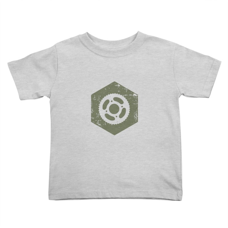 Nuts n' Bolts Kids Toddler T-Shirt by CRANK. outdoors + music lifestyle clothing