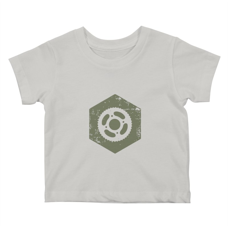 Nuts n' Bolts Kids Baby T-Shirt by CRANK. outdoors + music lifestyle clothing