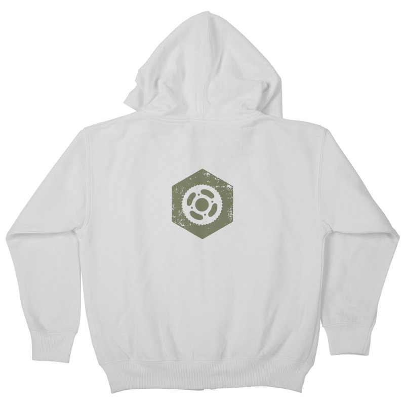 Nuts n' Bolts Kids Zip-Up Hoody by CRANK. outdoors + music lifestyle clothing