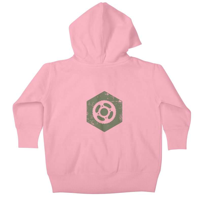 Nuts n' Bolts Kids Baby Zip-Up Hoody by CRANK. outdoors + music lifestyle clothing
