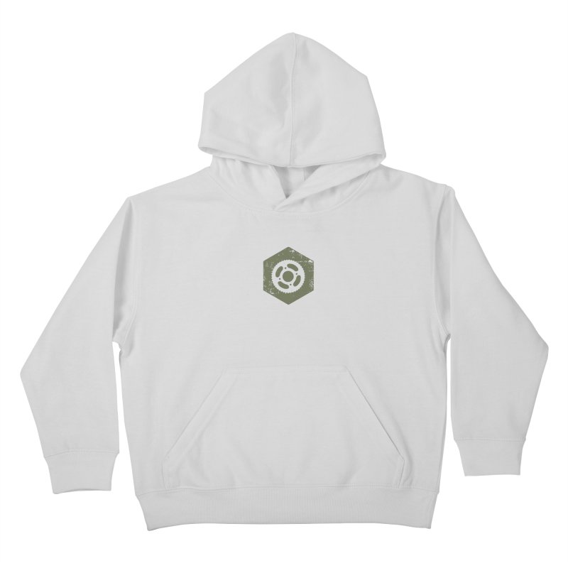 Nuts n' Bolts Kids Pullover Hoody by CRANK. outdoors + music lifestyle clothing