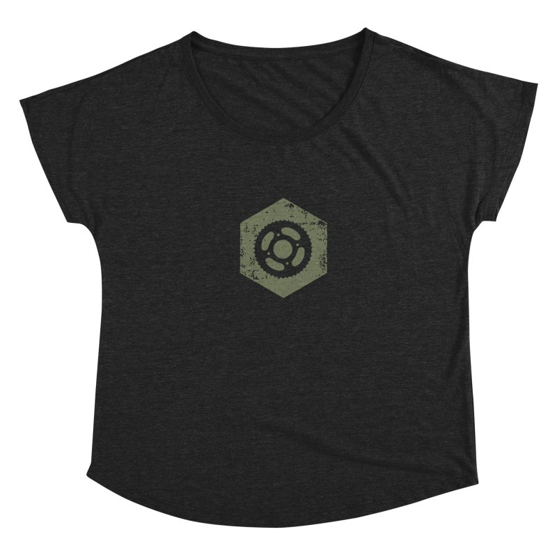 Nuts n' Bolts Women's Dolman Scoop Neck by CRANK. outdoors + music lifestyle clothing