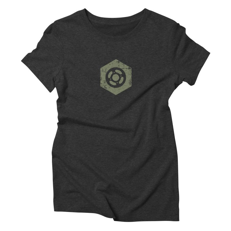 Nuts n' Bolts Women's Triblend T-shirt by CRANK. outdoors + music lifestyle clothing
