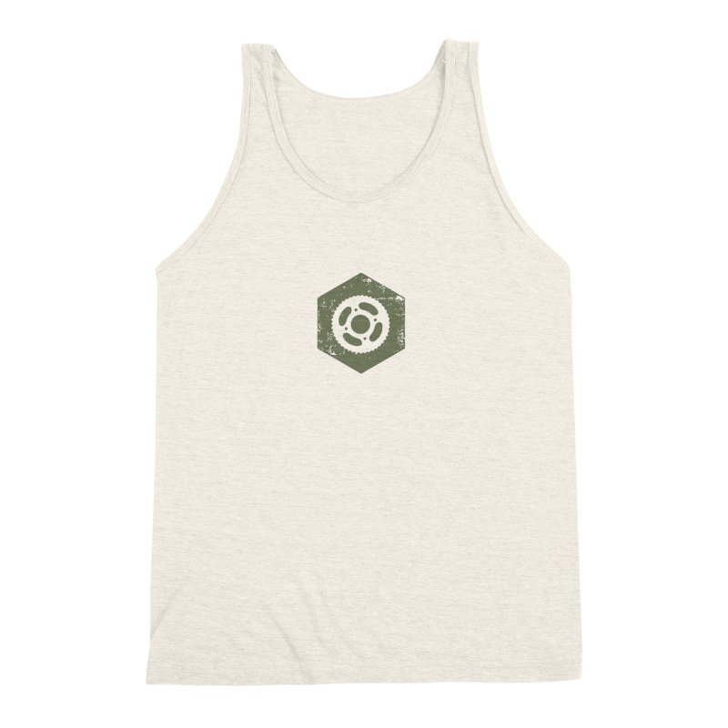 Nuts n' Bolts Men's Triblend Tank by CRANK. outdoors + music lifestyle clothing