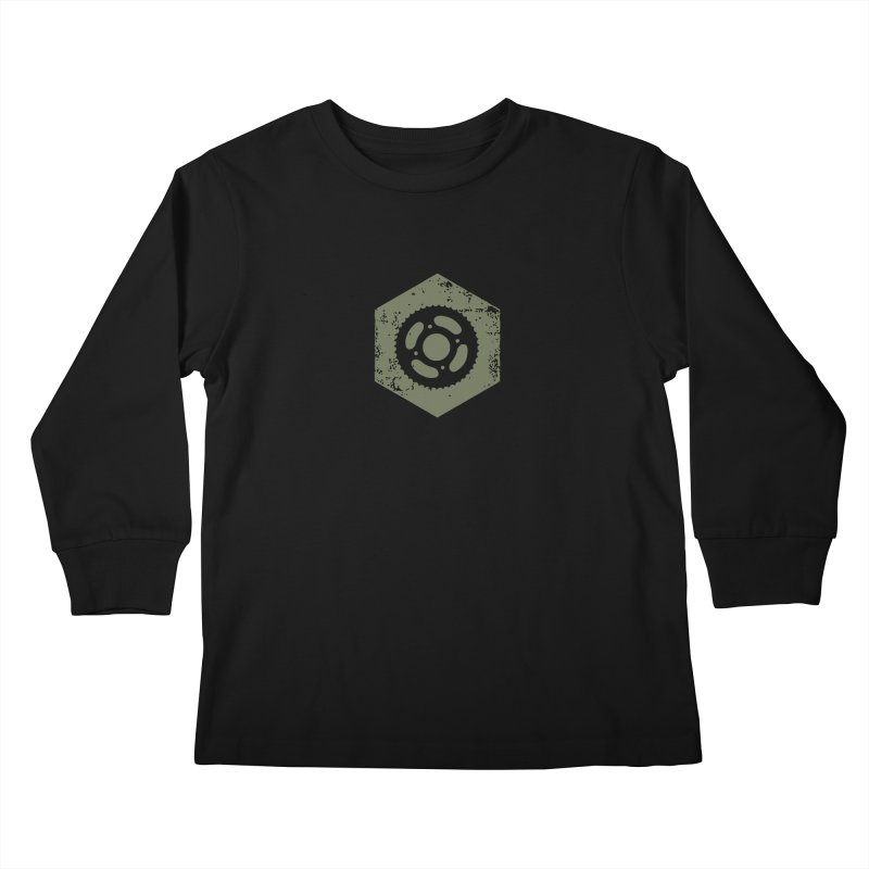 Nuts n' Bolts Kids Longsleeve T-Shirt by CRANK. outdoors + music lifestyle clothing