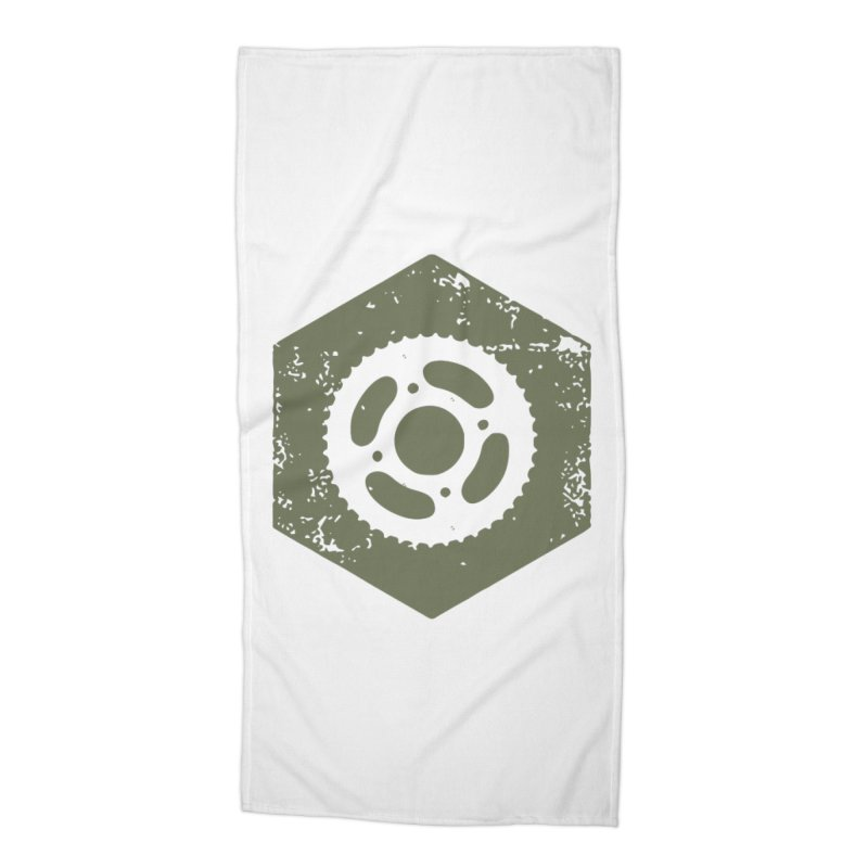 Nuts n' Bolts Accessories Beach Towel by CRANK. outdoors + music lifestyle clothing