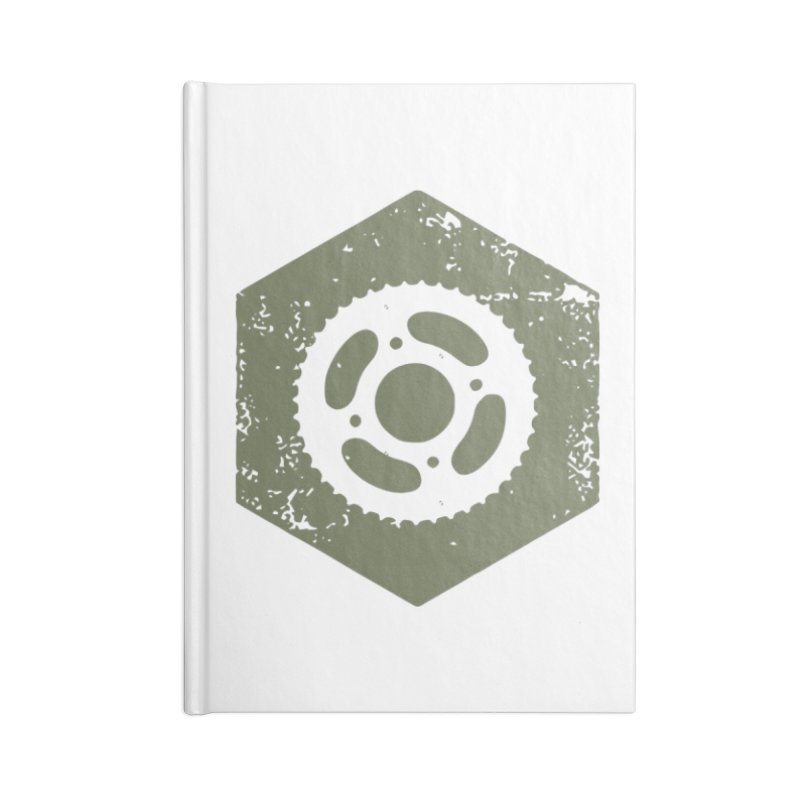 Nuts n' Bolts Accessories Notebook by CRANK. outdoors + music lifestyle clothing
