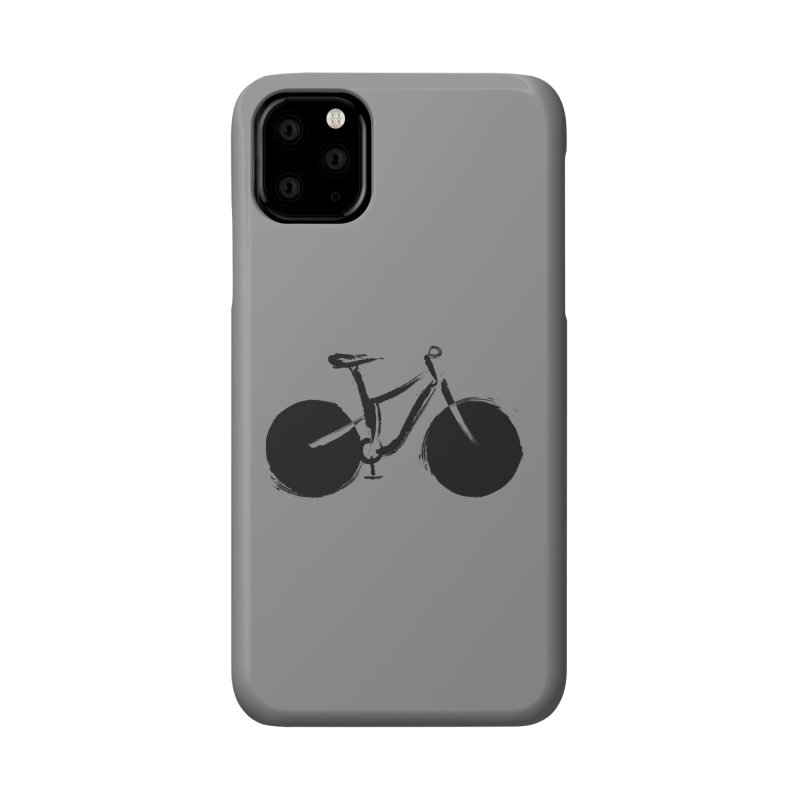 Sumi-e Bike (black) Accessories Phone Case by CRANK. outdoors + music lifestyle clothing