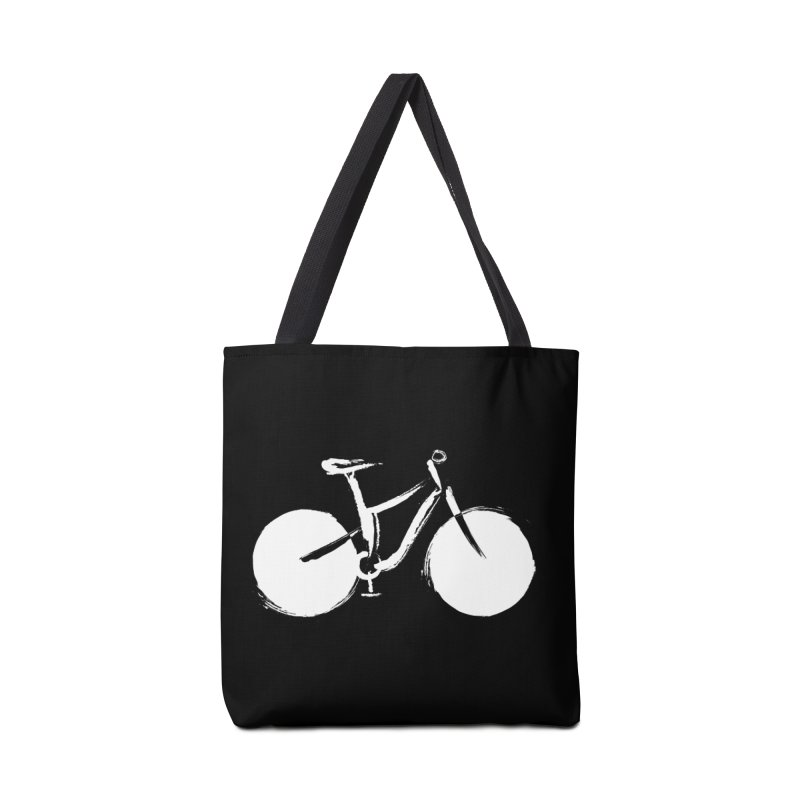 Sumi-e Bike Commute (white) Accessories Bag by CRANK. outdoors + music lifestyle clothing