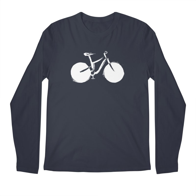 Sumi-e Bike Commute (white)   by CRANK. outdoors + music lifestyle clothing