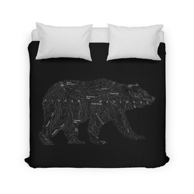 Pisgah the Topo Bear Home Duvet by CRANK. outdoors + music lifestyle clothing