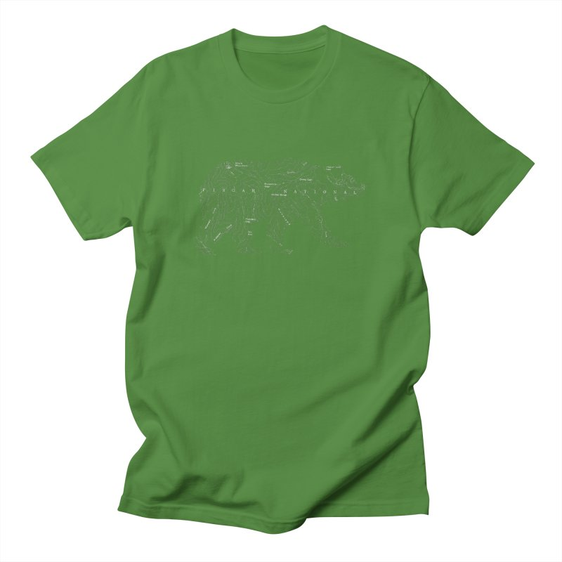Pisgah the Topo Bear Men's T-Shirt by CRANK. outdoors + music lifestyle clothing