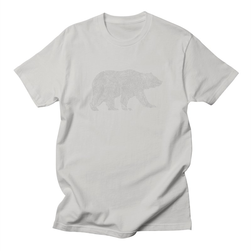 Pisgah the Topo Bear Women's Unisex T-Shirt by CRANK. outdoors + music lifestyle clothing