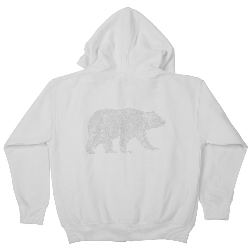 Pisgah the Topo Bear Kids Zip-Up Hoody by CRANK. outdoors + music lifestyle clothing