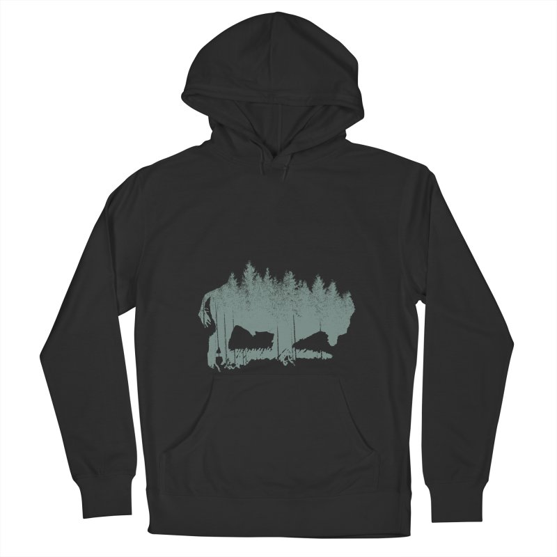Bison Shag Tree Coat Men's Pullover Hoody by CRANK. outdoors + music lifestyle clothing
