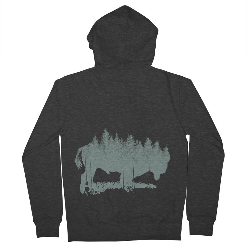 Bison Shag Tree Coat Women's Zip-Up Hoody by CRANK. outdoors + music lifestyle clothing