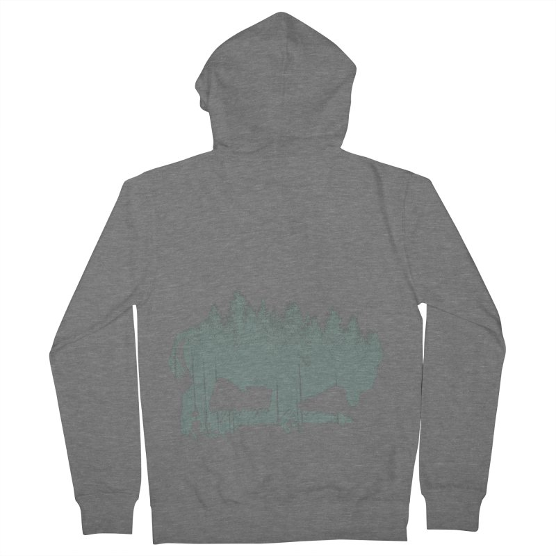 Bison Shag Tree Coat Women's French Terry Zip-Up Hoody by CRANK. outdoors + music lifestyle clothing