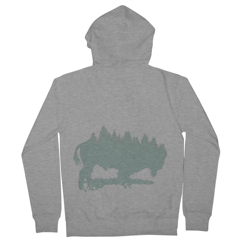 Bison Shag Tree Coat Men's Zip-Up Hoody by CRANK. outdoors + music lifestyle clothing