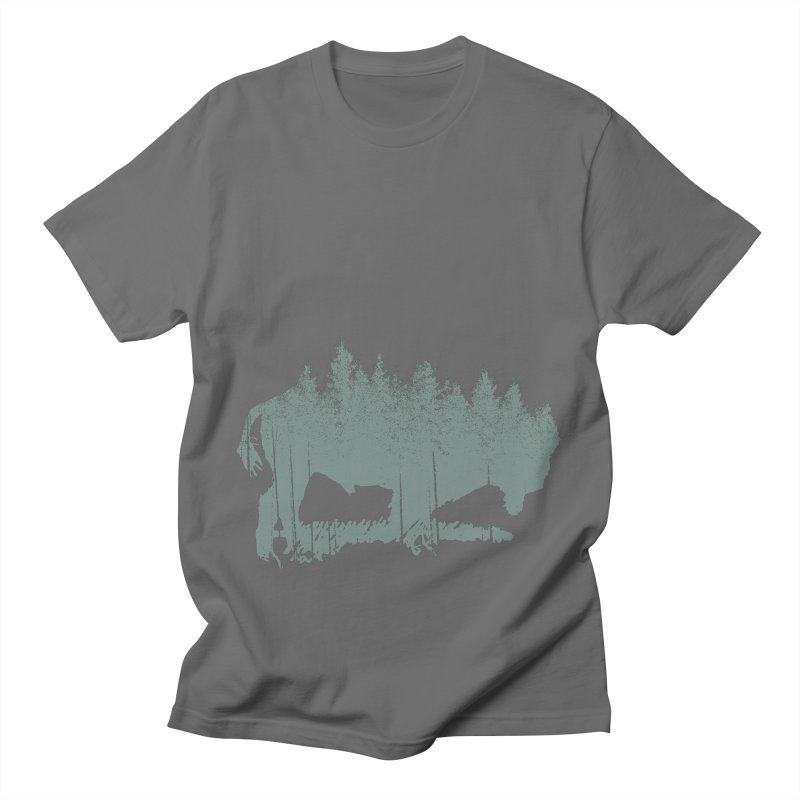 Bison Shag Tree Coat Women's Unisex T-Shirt by CRANK. outdoors + music lifestyle clothing