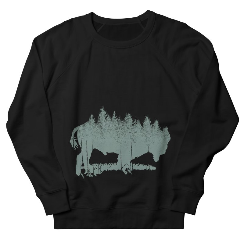Bison Shag Tree Coat Women's French Terry Sweatshirt by CRANK. outdoors + music lifestyle clothing