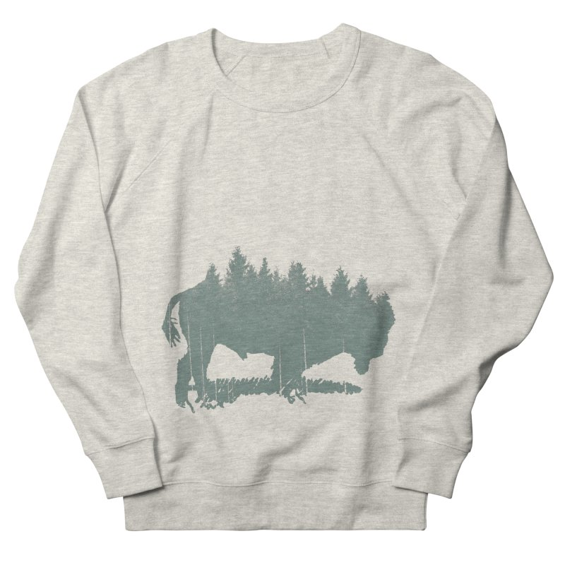 Bison Shag Tree Coat Men's Sweatshirt by CRANK. outdoors + music lifestyle clothing