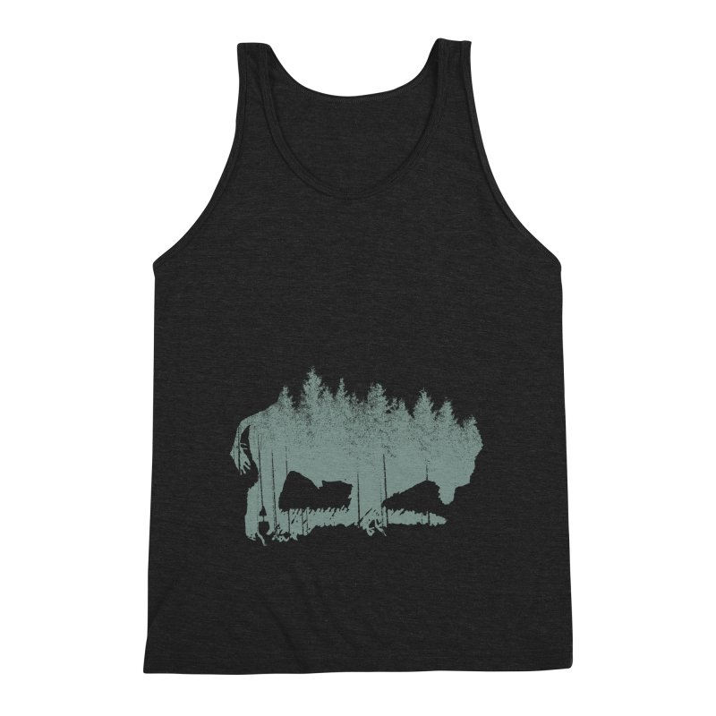 Bison Shag Tree Coat Men's Tank by CRANK. outdoors + music lifestyle clothing