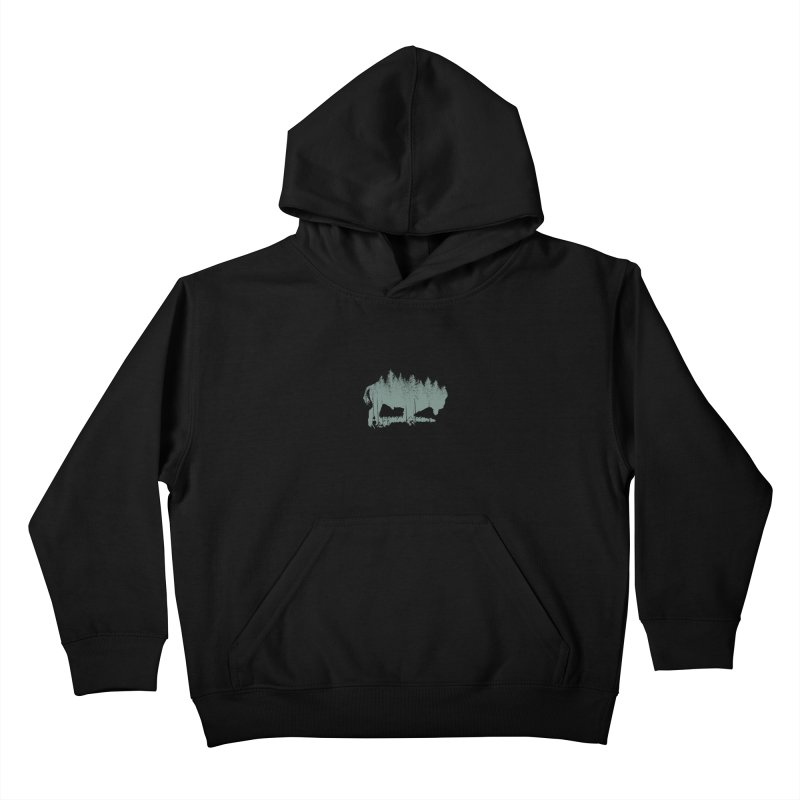 Bison Shag Tree Coat Kids Pullover Hoody by CRANK. outdoors + music lifestyle clothing