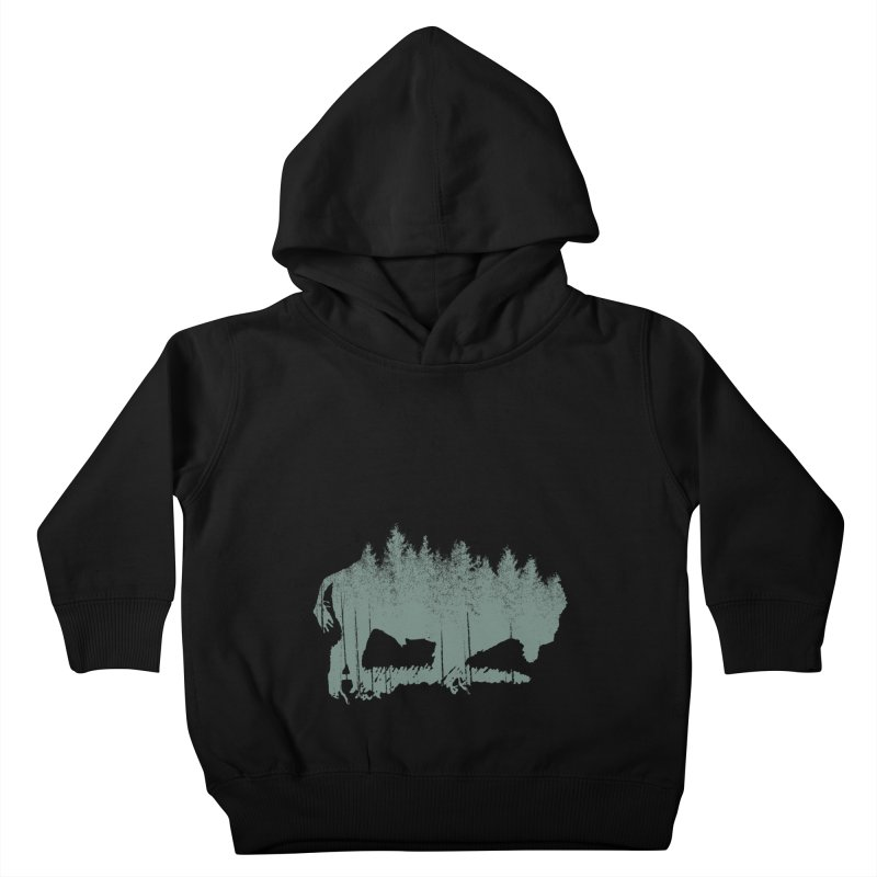 Bison Shag Tree Coat Kids Toddler Pullover Hoody by CRANK. outdoors + music lifestyle clothing