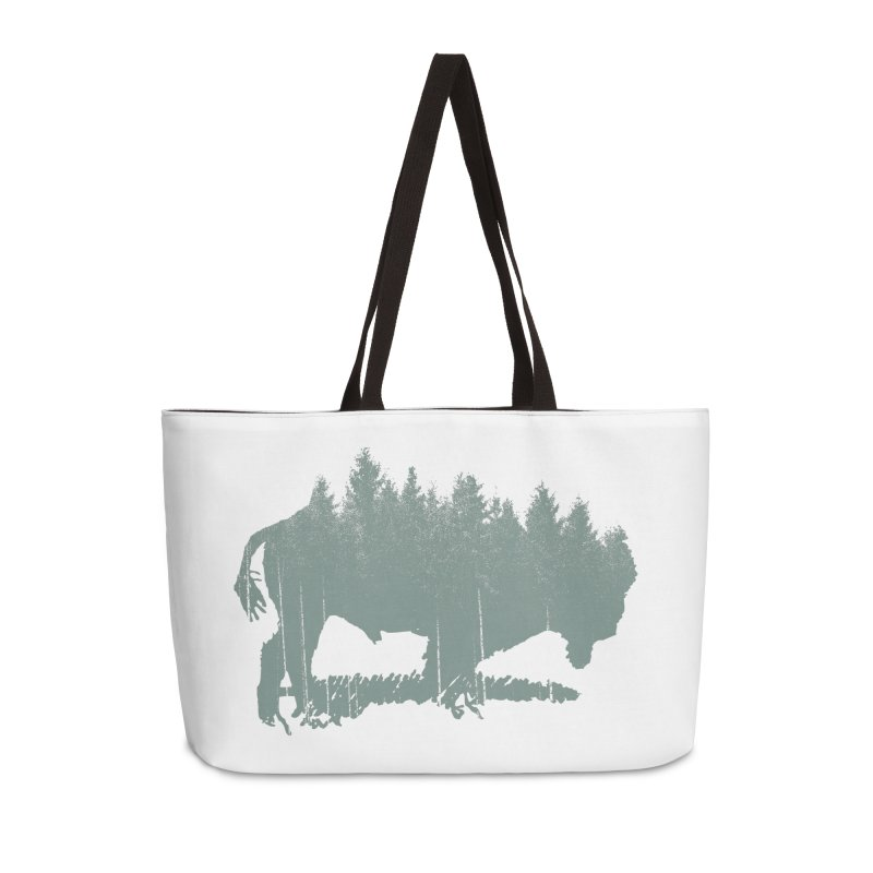 Bison Shag Tree Coat Accessories Bag by CRANK. outdoors + music lifestyle clothing